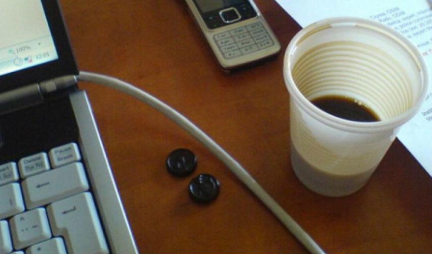 café copo plastico