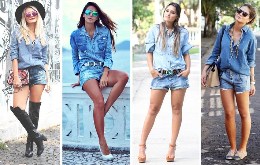 como usar jeans com jeans 2