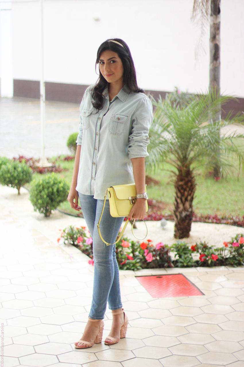 como usar jeans com jeans 6