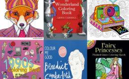 Livros para colorir com temas super legais!