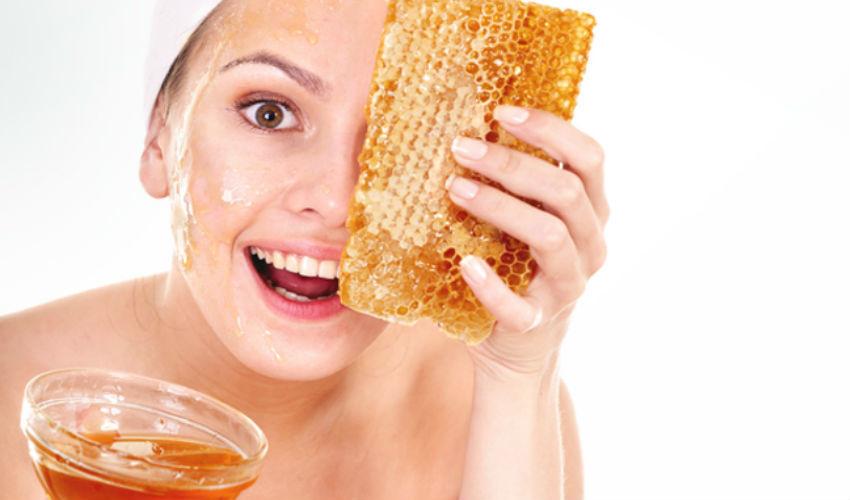 esfoliante com mel e açucar