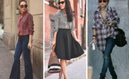 8 maneiras de usar camisa xadrez
