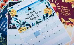 Calendário 2016 grátis para imprimir – E aí Beleza +…