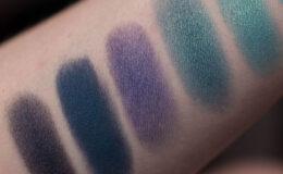 Sombras Azuis da Quem Disse Berenice – Swatches