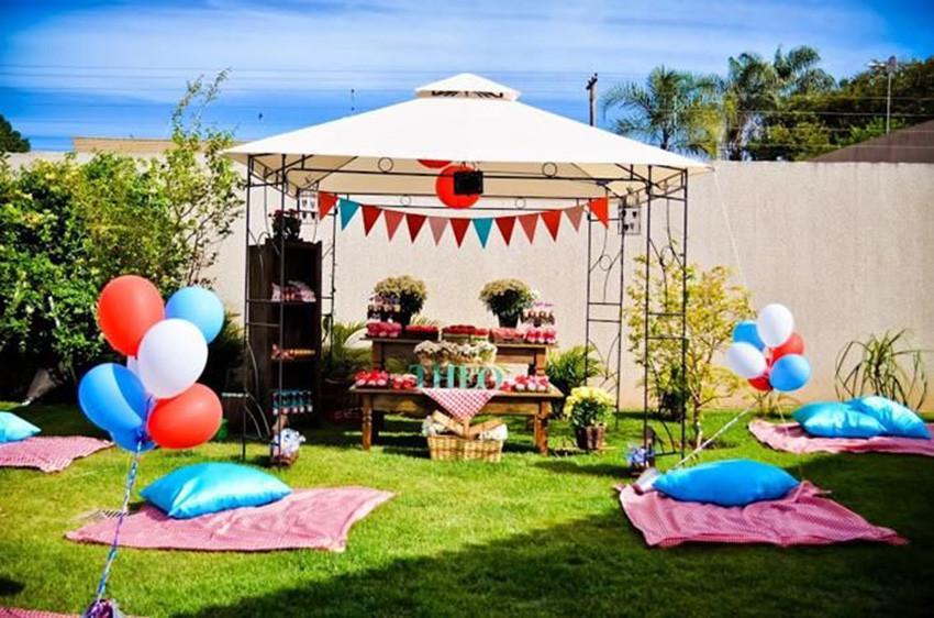 festa picnic inspirações