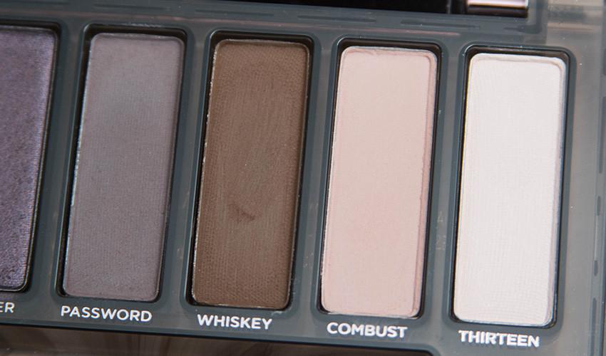 naked smoky matte eyeshadows