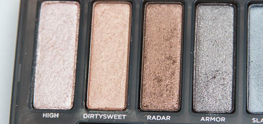naked smoky shimmer eyeshadows