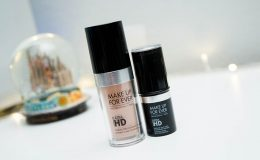 Resenha: nova base Ultra HD Make Up For Ever