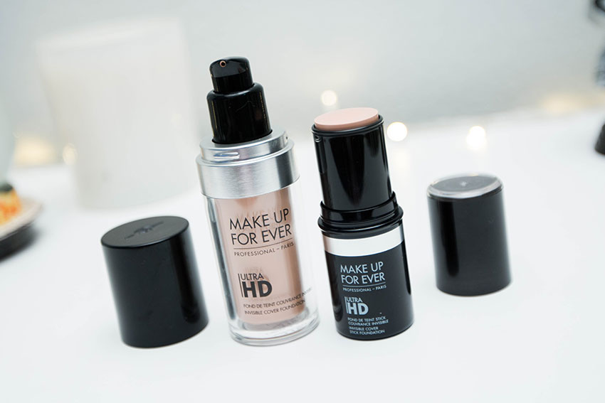 Ultra HD foundation liquida e stick