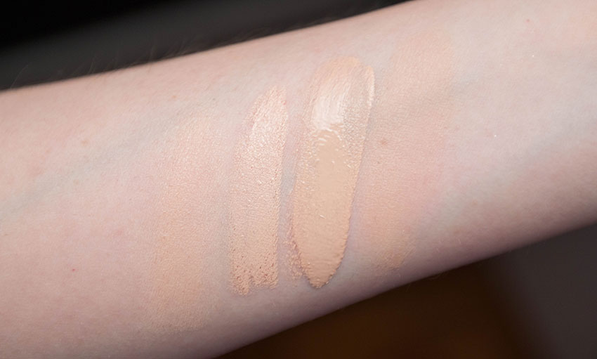 swatch makeup forever ultraHD