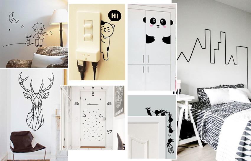 Adesivos de parede decoração