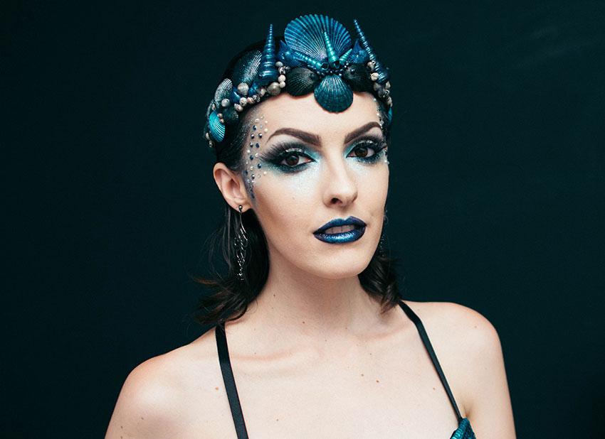 maquiagem carnaval 2016 sereia gotica trevosa (1)