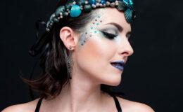 Tutorial Sereia Dark Gótica para o Carnaval 2016