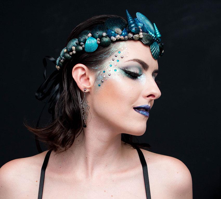 maquiagem carnaval 2016 sereia gotica trevosa (3)