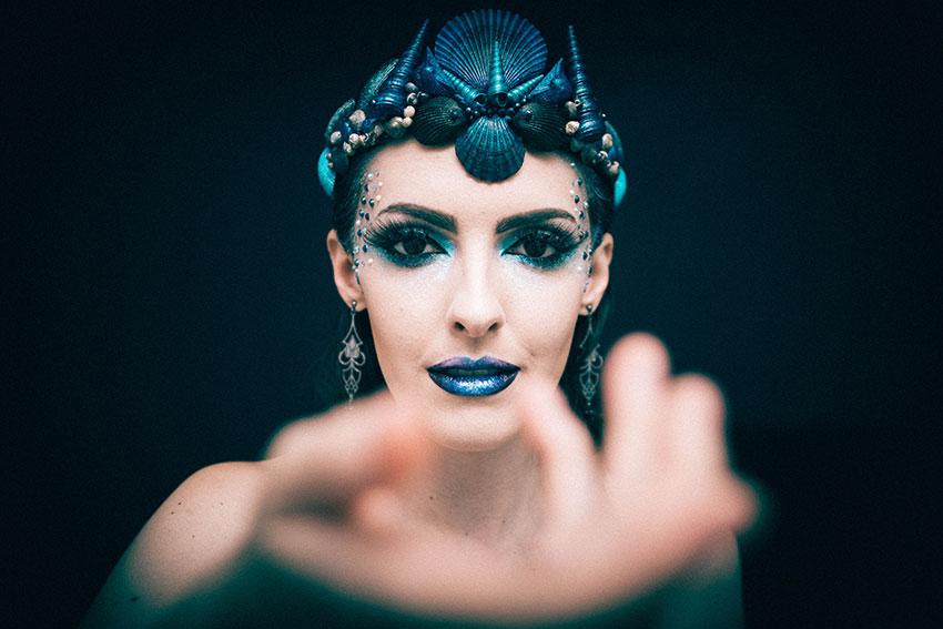 maquiagem carnaval 2016 sereia gotica trevosa (4)