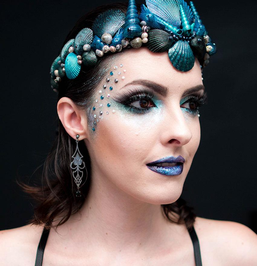 maquiagem carnaval 2016 sereia gotica trevosa (5)