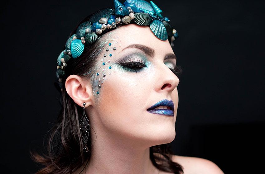 maquiagem carnaval 2016 sereia gotica trevosa (6)