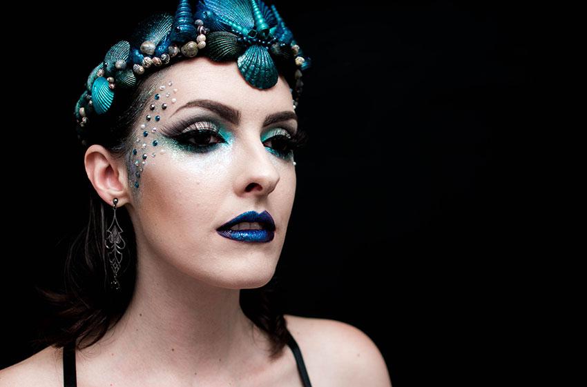 maquiagem carnaval 2016 sereia gotica trevosa (7)