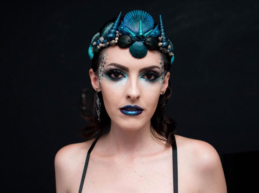 maquiagem carnaval 2016 sereia gotica trevosa (8)