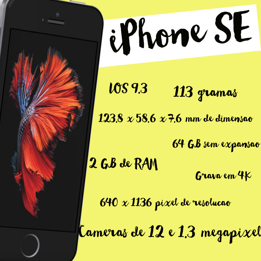 Iphone-SE-Informacoes