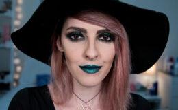 Tutorial: Maquiagem gótica verde inspirada em Wicked