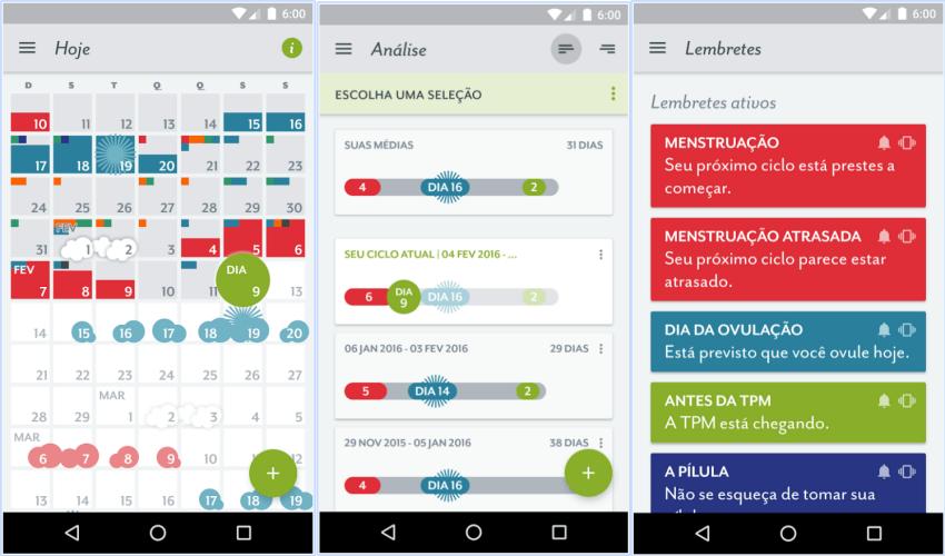 Apps para Ciclo Menstrual