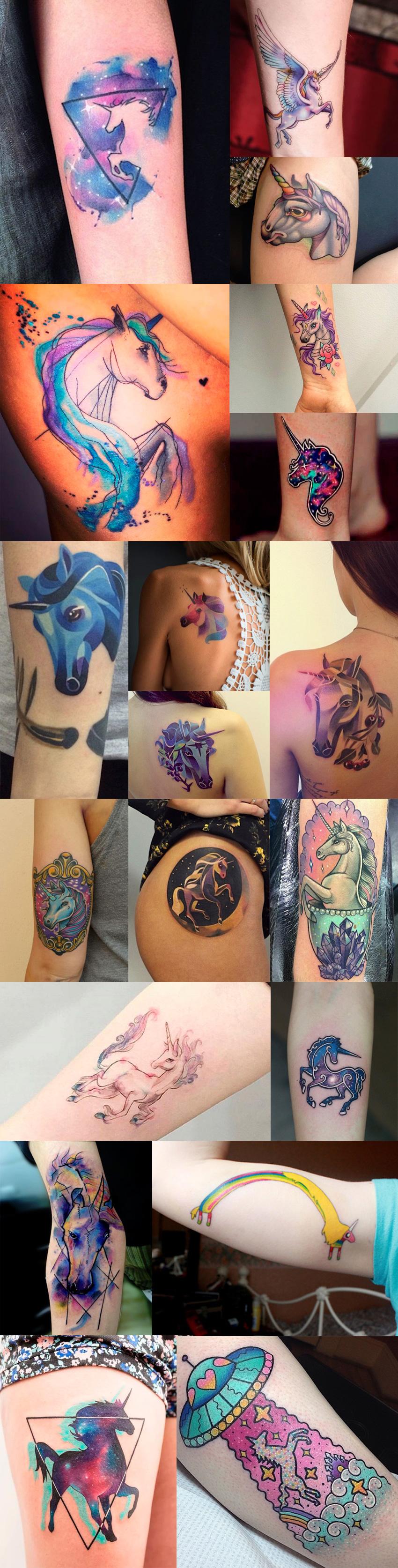 tattoos-unicornio-coloridas
