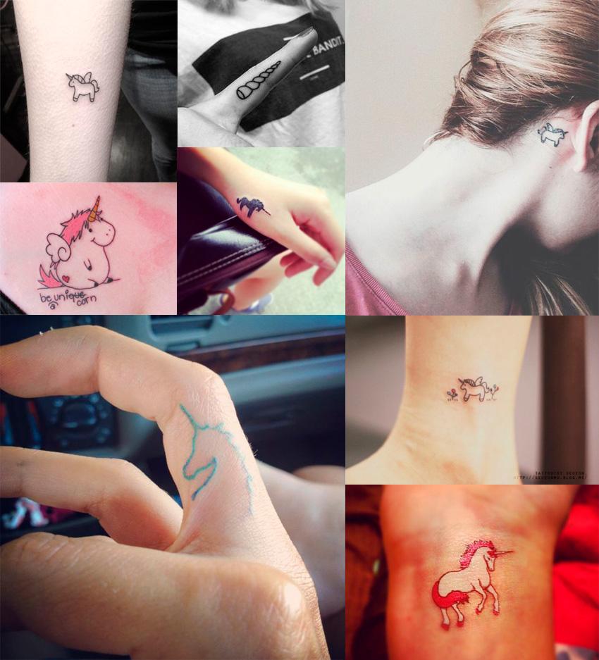 tatuagens-de-unicornio-pequenas
