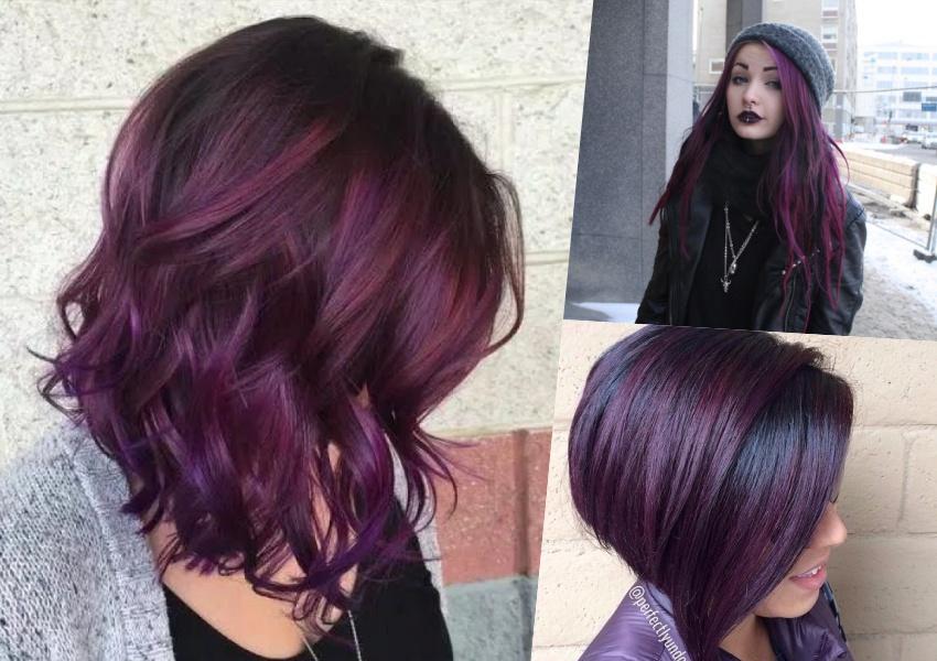 Cabelo violeta