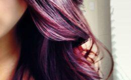 Nova tendência: Cabelo violeta