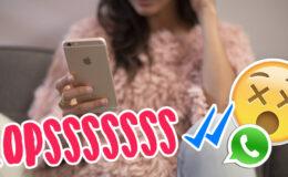 Whatsapp testa função de apagar ou editar mensagens enviadas