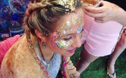 Pós-Carnaval: Como tirar glitter da pele e cabelos?