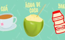 Como tomar chá, água de coco e Yakult melhoraram minha…