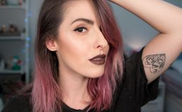 VIDEO: Testando produtos de maquiagem pela primeira vez