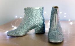 DIY: Como transformar botas velhas em botas de glitter