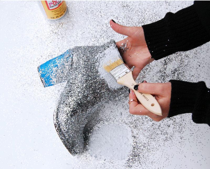 DIY-botas-de-glitter-05-faça-você-mesmo