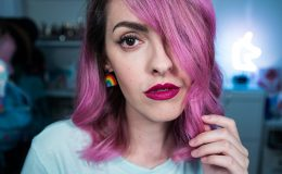 Karen Bachini para T.Blogs: batom matte metálico Wonderland