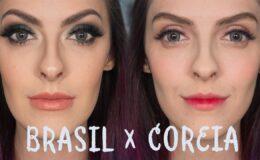 Maquiagem Coreia X Brasil – o que muda?