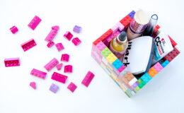 Como usar Lego para organizar sua bagunça?