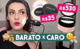 CARO X BARATO: Qual pó facial é melhor – Sisley…