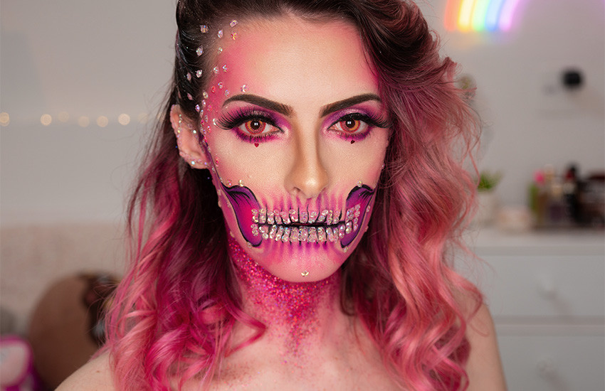 make-halloween-caveira-pink1