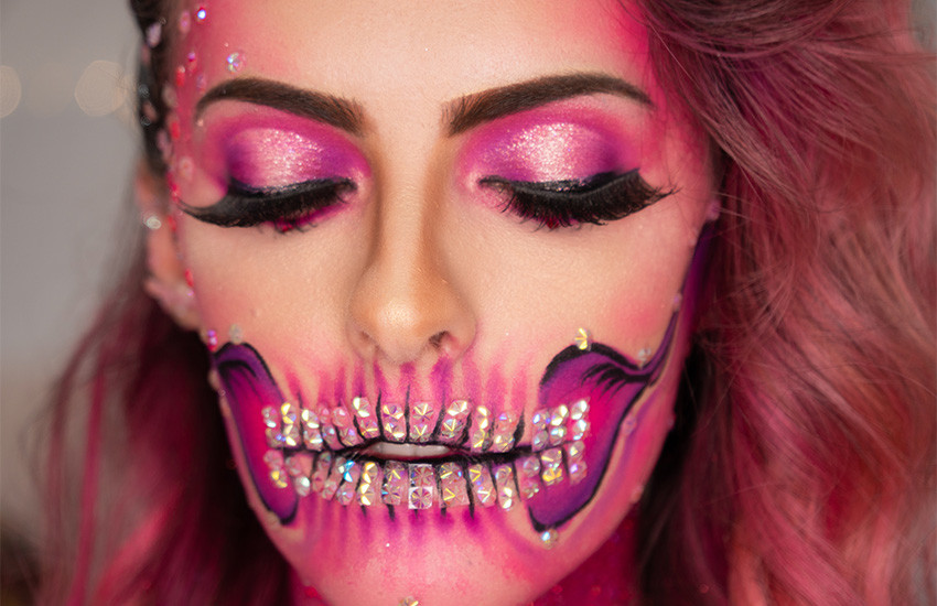 make-halloween-caveira-pink8