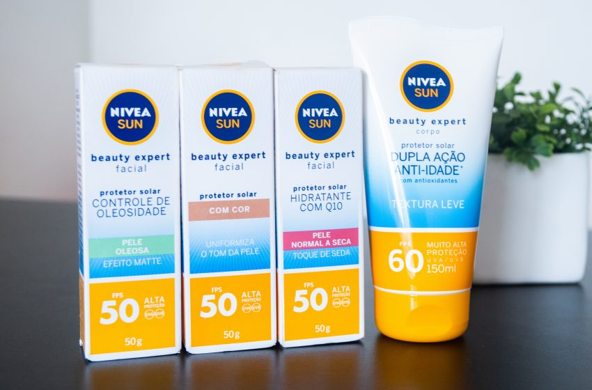 Lançamento – NIVEA Sun Beauty Expert!